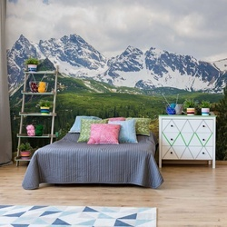 Mountains Alps Photo Wallpaper Wall Mural