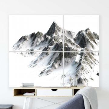 Mountains Canvas Photo Print