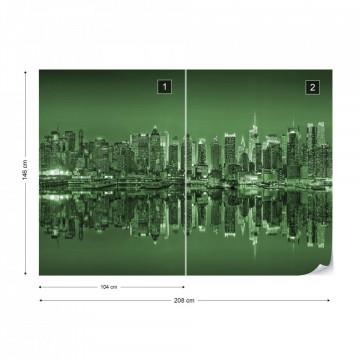 New York – Reflexie în Apă, Verde