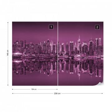 New York – Reflexie în Apă, Violet