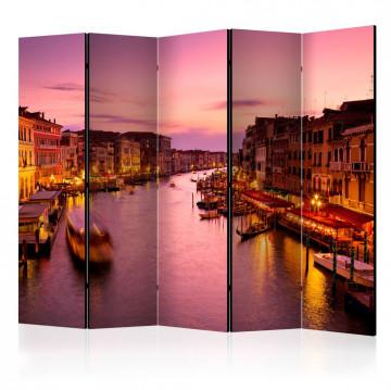 Paravan - City of lovers, Venice by night II [Room Dividers]
