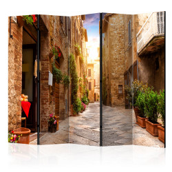 Paravan - Colourful Street in Tuscany II [Room Dividers]