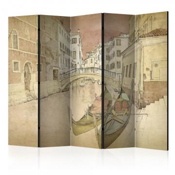 Paravan - Gondolas in Venice II [Room Dividers]