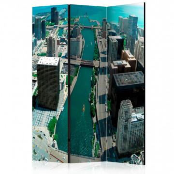 Paravan - Urban architecture of Chicago [Room Dividers]
