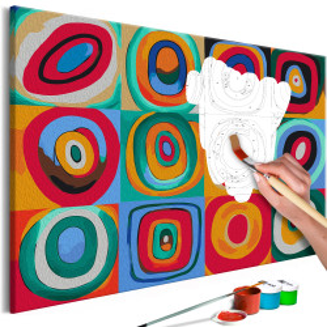Pictatul pentru recreere - Colourful Rings