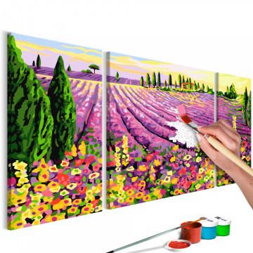 Pictatul pentru recreere - Lavender Field