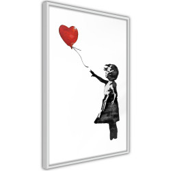 Poster - Banksy: Girl with Balloon II