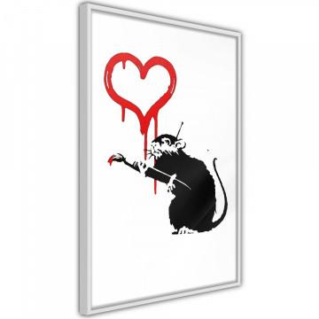 Poster - Banksy: Love Rat