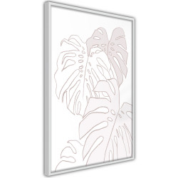 Poster - Beige Leaves