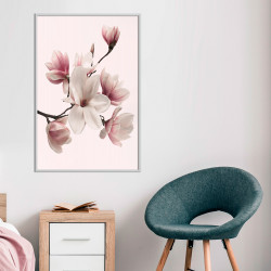 Poster - Blooming Magnolias I