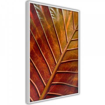 Poster - Bronze Leaf