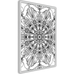 Poster - Colour Your Own Mandala I