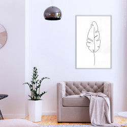 Poster - Drawn with One Line