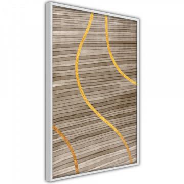 Poster - Golden Stripes