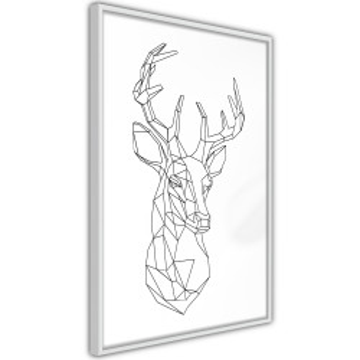 Poster - Minimalist Deer