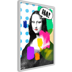 Poster - Mona Lisa's Laughter