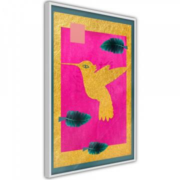 Poster - Native American Hummingbird