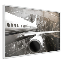 Poster - Plane Wing