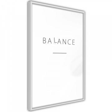 Poster - Seek a Balance