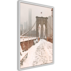 Poster - Winter in New York