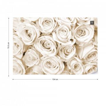 Rose Bouquet Sepia
