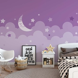 Sleepy Skies in Purple