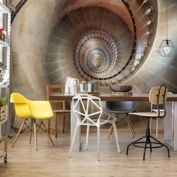 Spiral Staircase Photo Wallpaper Mural