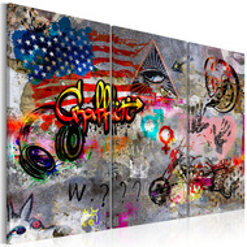 Tablou - American Graffiti