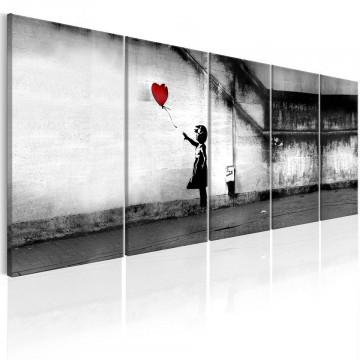 Tablou - Banksy: Runaway Balloon