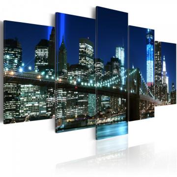 Tablou - Blue NYC