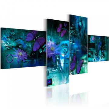 Tablou - Butterflies in turquoise