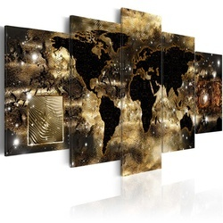 Tablou - Continents of bronze