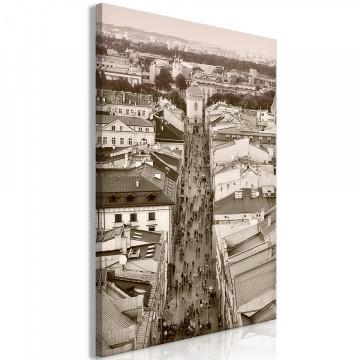 Tablou - Cracow: Florianska Street (1 Part) Vertical