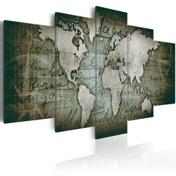 Tablou - Emerald Map