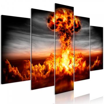 Tablou - Explosion (5 Parts) Wide