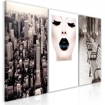 Tablou - Faces of City (3 Parts)