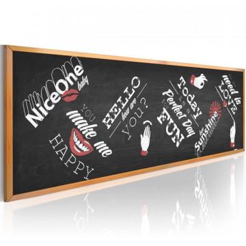 Tablou - Funny blackboard