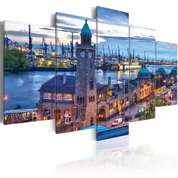 Tablou - Germany, Hamburg, port