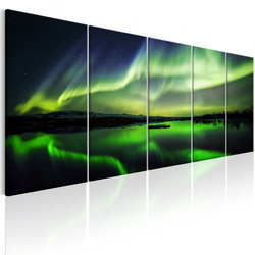 Tablou - Green Sky I
