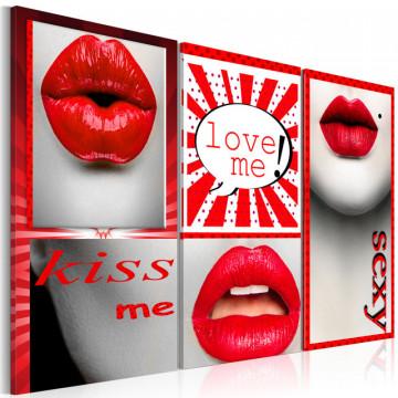 Tablou - Kiss me! Love me!