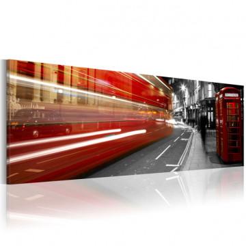 Tablou - London rush hour