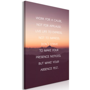 Tablou - Make Your Absence Felt (1 Part) Vertical