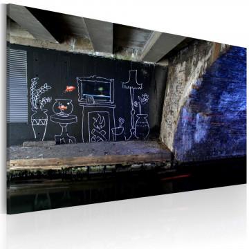 Tablou - My own piece of floor (Banksy)