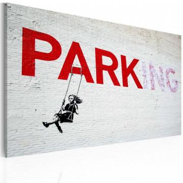 Tablou - Parking (Banksy)