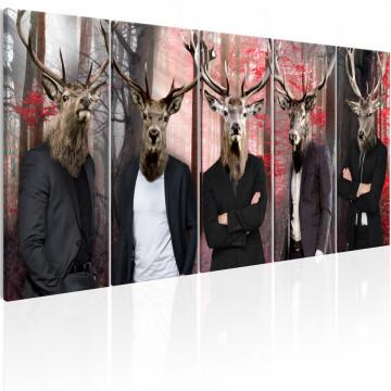 Tablou - People in Masks
