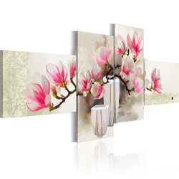 Tablou pictat manual - Fragrance of magnolias