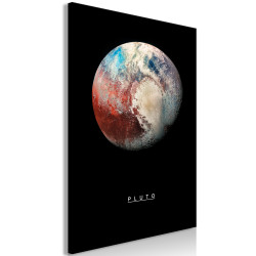 Tablou - Pluto (1 Part) Vertical