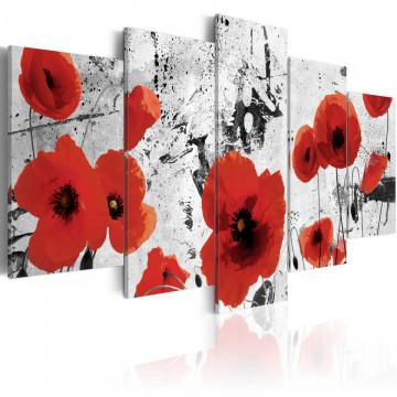 Tablou - Scarlet flowers