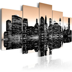 Tablou - Sinking New York - 5 pieces