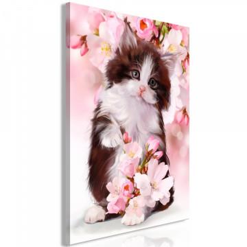 Tablou - Sweet Kitty (1 Part) Vertical